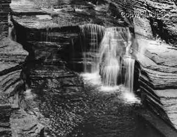 Angel Falls - Robert H Treman State Park, Ithaca, NY