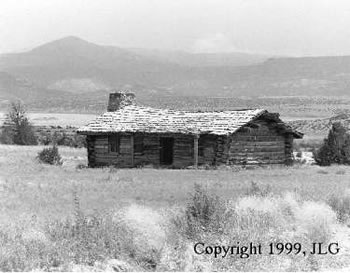 Log Cabin - Ghost Ranch, NM