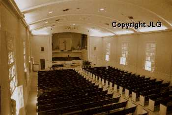 Brown Chapel Interior from Balcony
