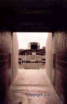 Tunnel Entrance to Ford Stadium