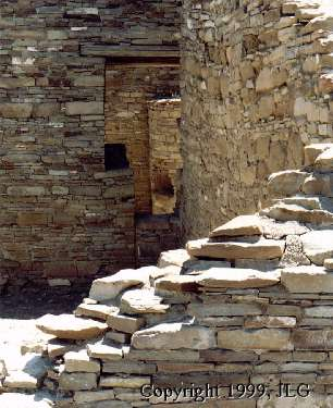 A Glimpse at Chetro Ketl - Chaco Culture NHP, Chaco Canyon, NM