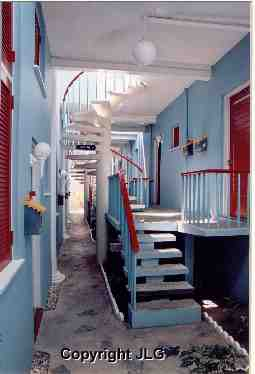 Red & Blue Atrium - Tortola, B.V.I.